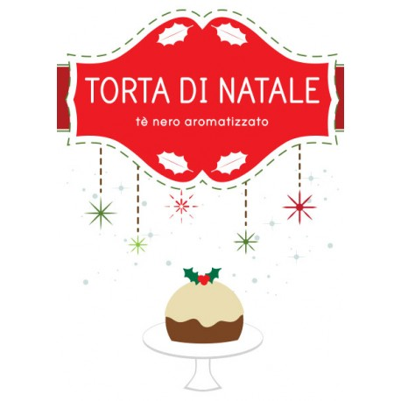 Tè Nero Aromatizzato Torta di Natale